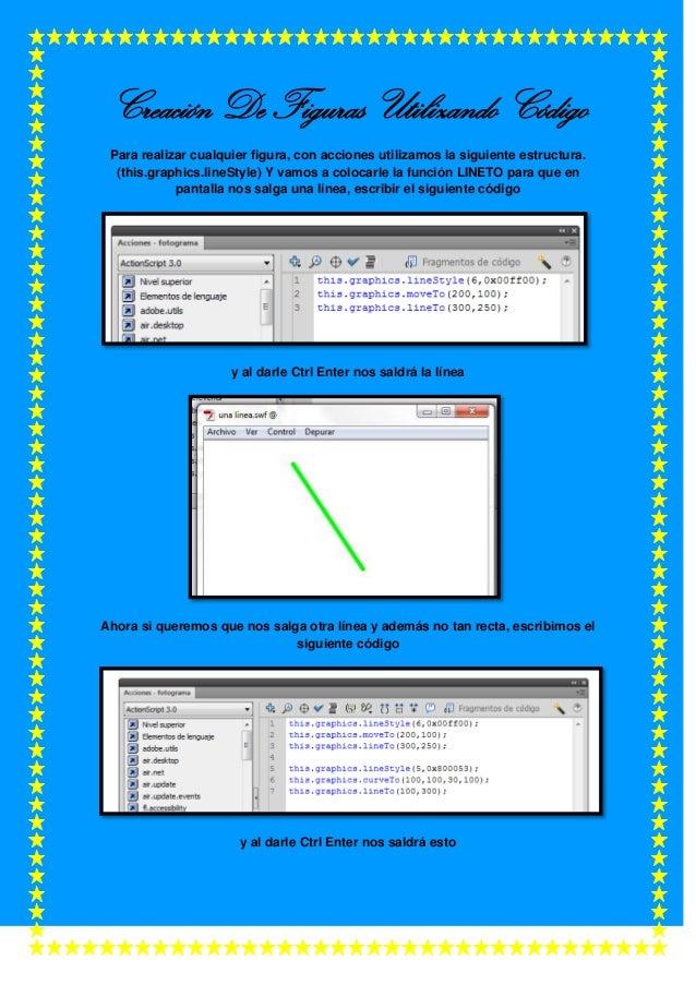 Creación De Figuras Utilizando Código Para realizar cualquier figura, con acciones utilizamos la siguiente estructura. (th...