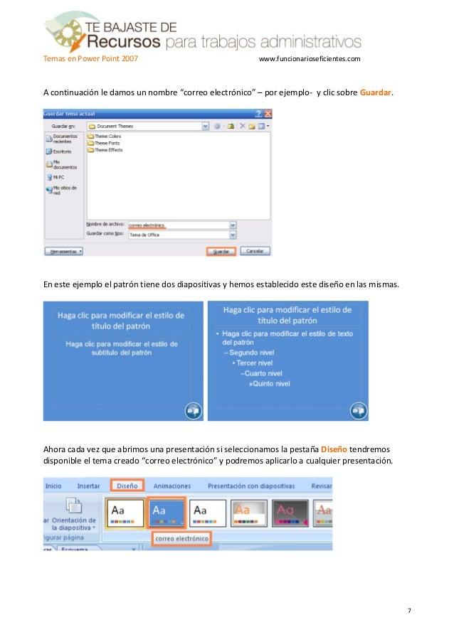 Como crear una plantilla o tema en PowerPoint 2007 - Tutorial en espa…