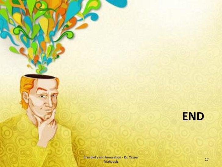 Creativity and Innovation - introduction الإبداع والابتكار - مقدمة