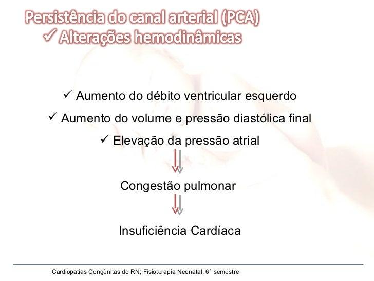 <ul><li>Aumento do débito ventricular esquerdo </li></ul><ul><li>Aumento do volume e pressão diastólica final </li></ul><u...