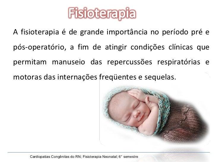 A fisioterapia é de grande importância no período pré e pós-operatório, a fim de atingir condições clínicas que permitam m...