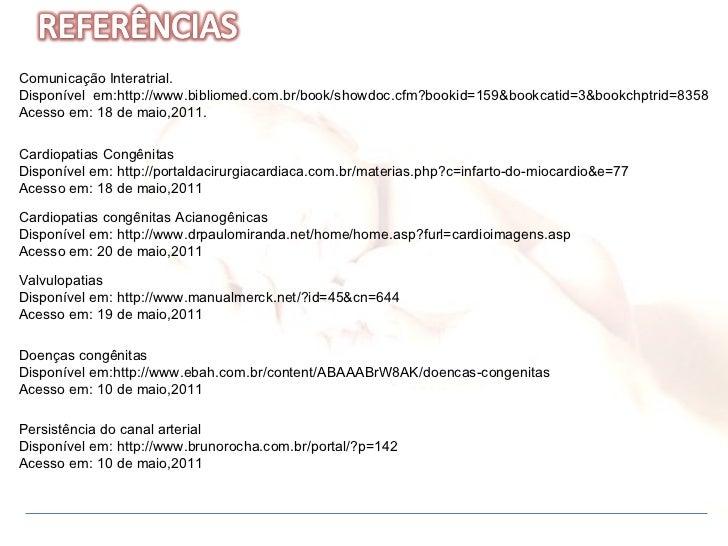 Comunicação Interatrial.  Disponível  em:http://www.bibliomed.com.br/book/showdoc.cfm?bookid=159&bookcatid=3&bookchptrid=8...