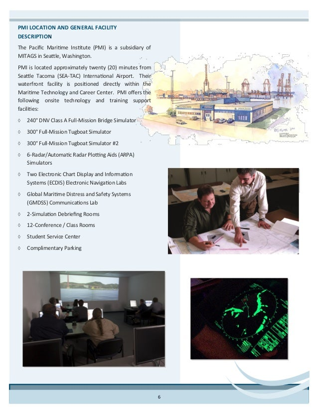 MITAGS-PMI Maritime Research Brochure