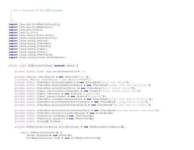 ETM Server Slide 2