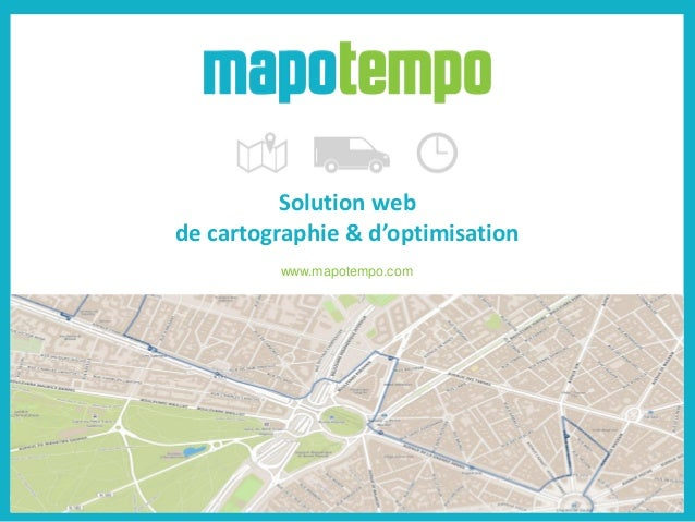 Solution web de cartographie & d'optimisation www.mapotempo.com