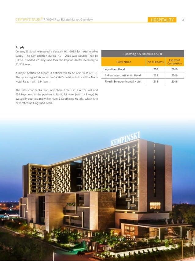 Riyadh Real Estate Market Overview 2015 - English