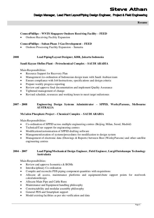 Piping Layout Engineer Jobs In Singapore - wiring diagrams schematics