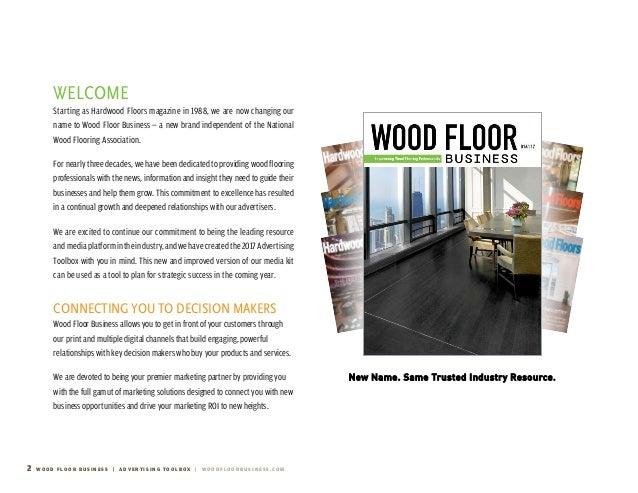 2017 Wood Floor Business Media Kit