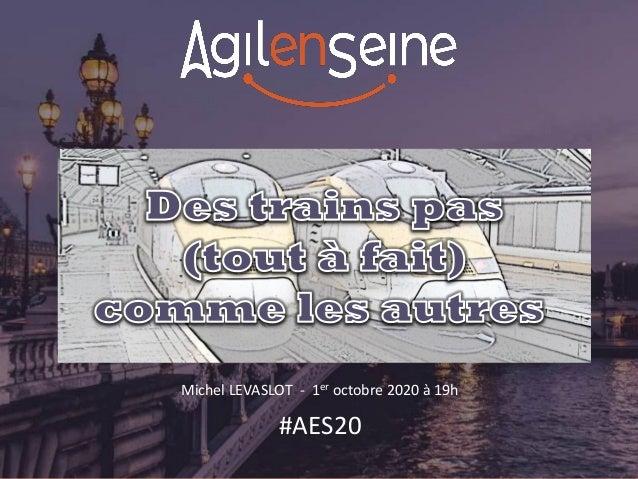 Michel LEVASLOT - 1er octobre 2020 à 19h #AES20