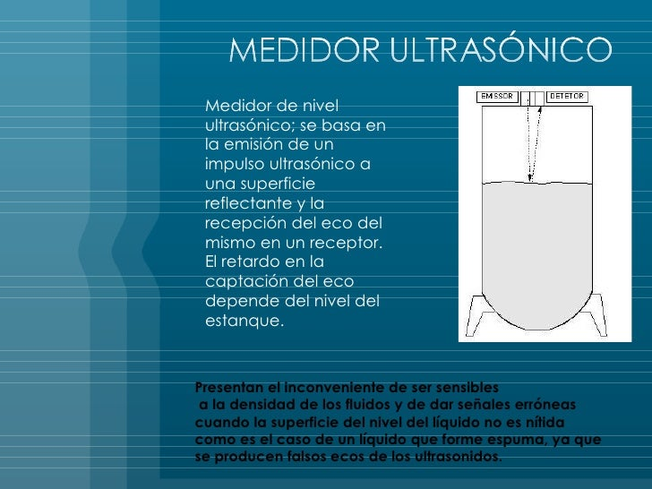 Detemexa medici n de nivel para tanques for Estanque reflectante