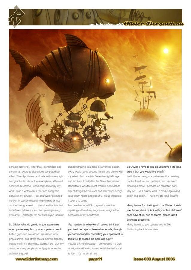 2D artist Magazine 008