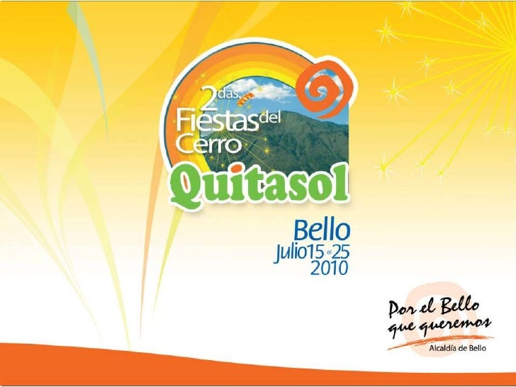 Programacion Fiestas del Cerro Quitasol