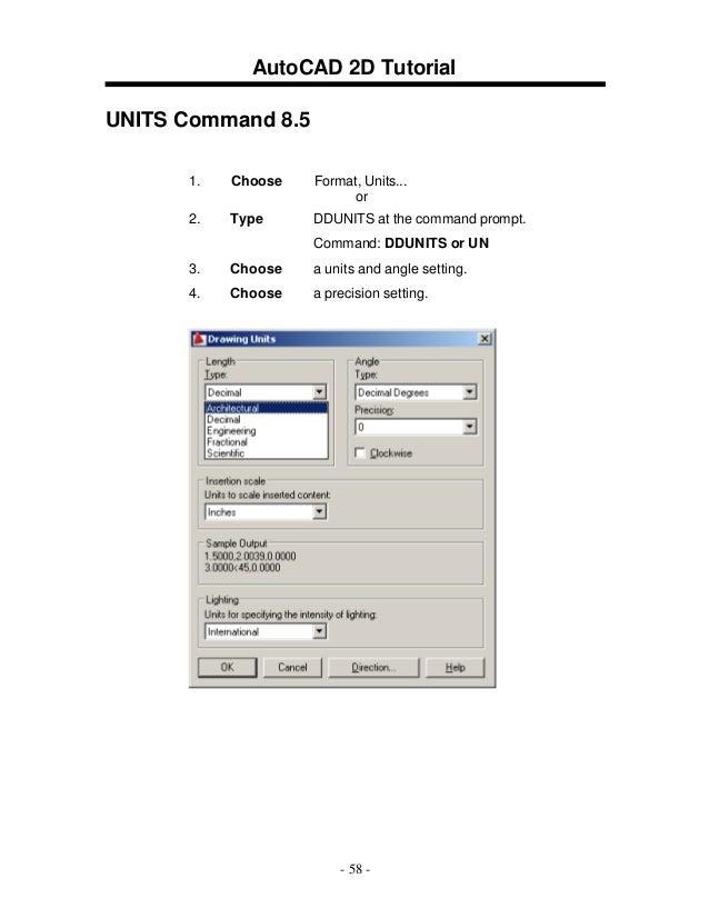 2 d autocad 2009 rh slideshare net AutoCAD Instruction Manual AutoCAD 2014 User Manual