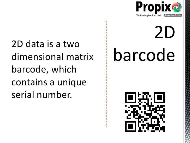 The 2D Code - Data Matrix