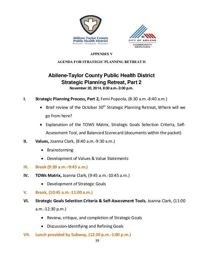 2015-2019 ATCPHD Strategic Plan