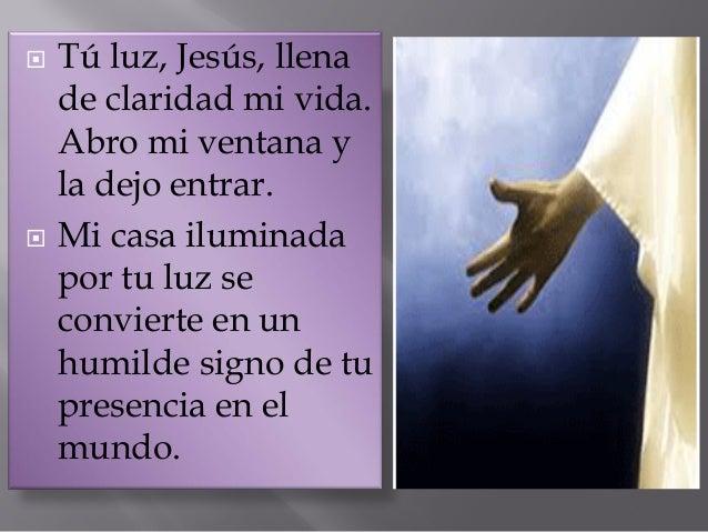  Escucha la voz del Padre que habla desde la nube.  ¡Con qué amor habla de su Hijo!  Atrévete a creer que las palabras ...