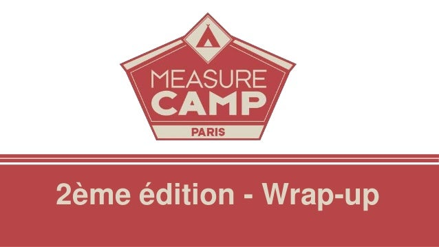2ème édition - Wrap-up