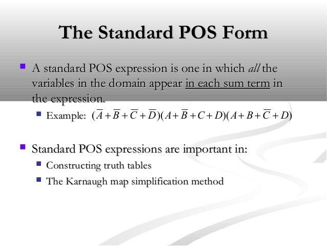 Logic Simplification Using Sop