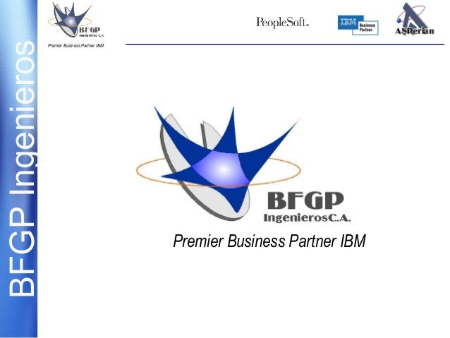 BFGPIngenierosPremier Business Partner IBM Premier Business Partner IBM