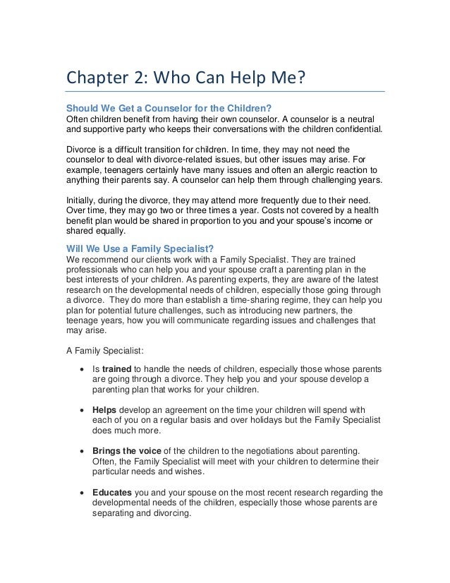 Dealing with divorce 4 part ebook series your children part 2 4 fandeluxe Choice Image