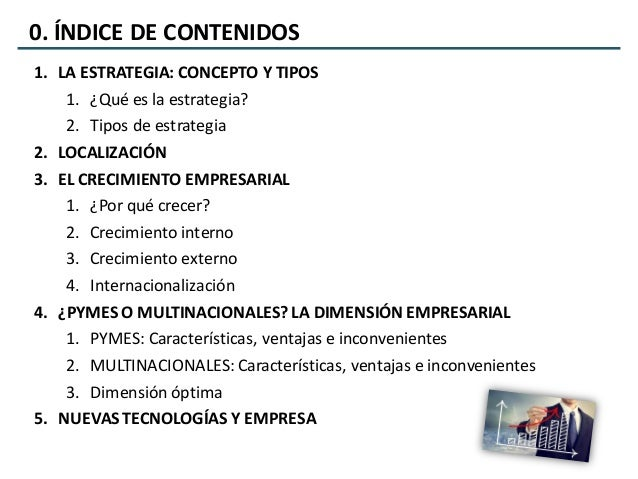Economía de la Empresa 2º Bachillerato - UD2. Decisiones estratégicas Slide 2