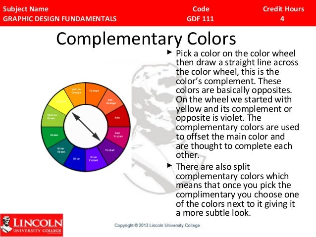 2 defining graphic designing - Split complementary colors definition ...