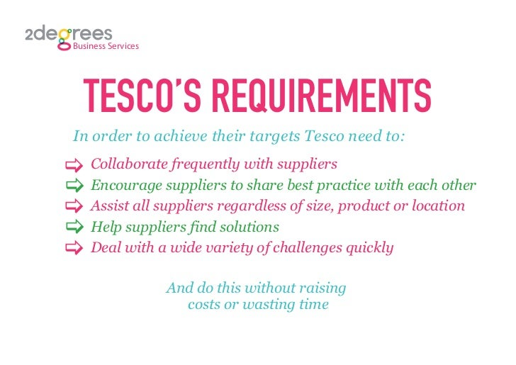 recruitment and selection at tesco case study answers