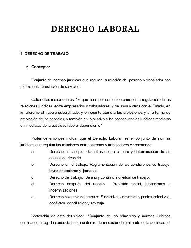 2 derecho laboral