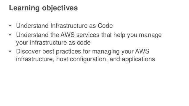 DevOps on AWS: Deep Dive on Infrastructure as Code Slide 2