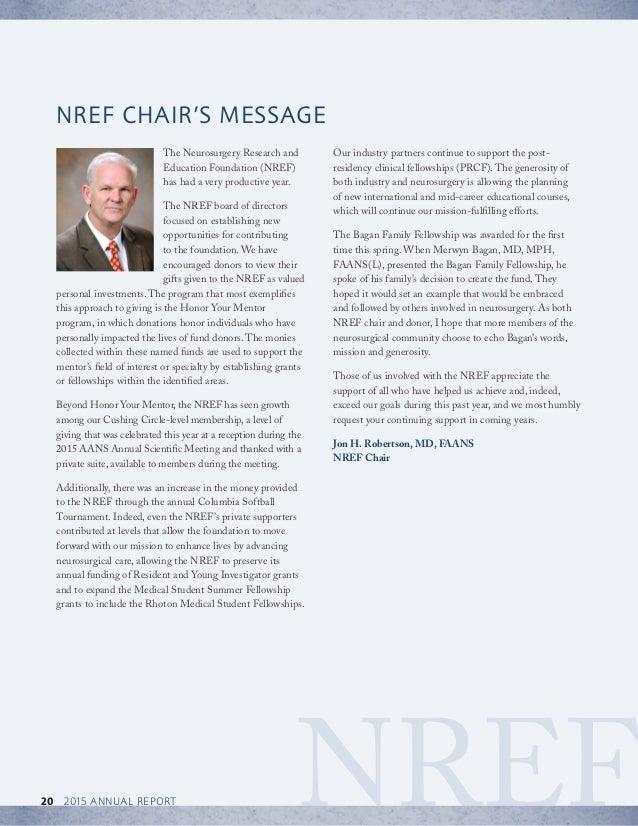 NREF Annual Report