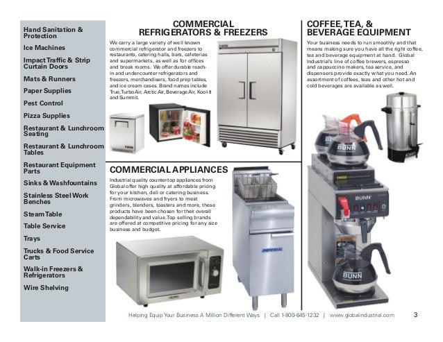 Global Equipment Brochure - Foodservice