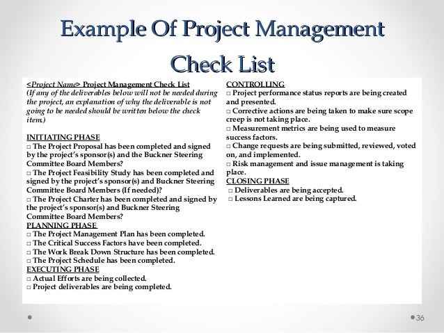 A repeatable project management methodology for Project management methodology template