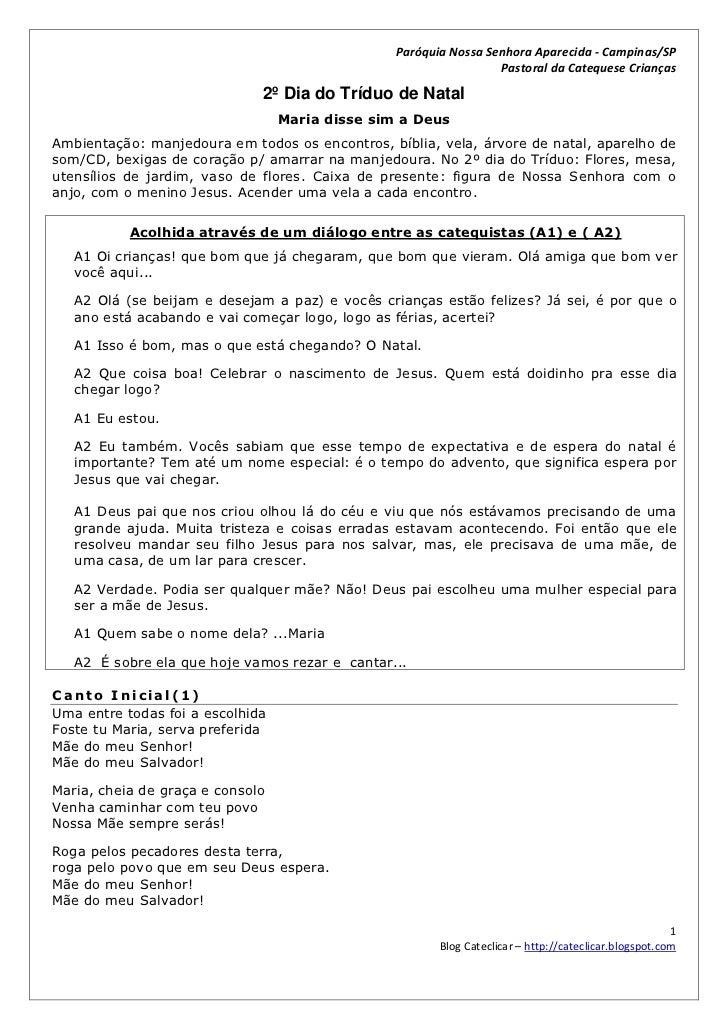 Paróquia Nossa Senhora Aparecida - Campinas/SP                                                                  Pastoral d...