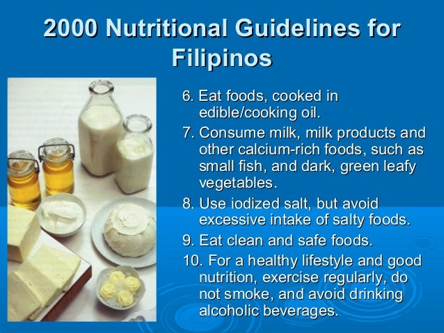 Dietary Recommendations, Food Guides, and Food Labels to ...