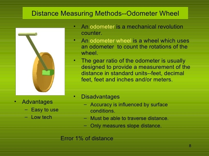 Surveying Electronic Distance Measurement : Distance