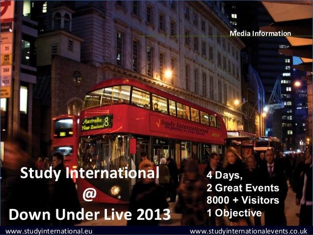 Media Information Study International            4 Days,                                2 Great Events          @         ...