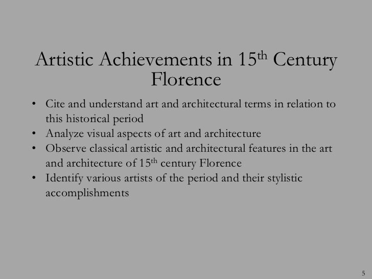 achievements of renaissance