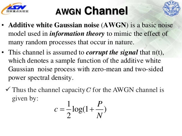 Noise, information theory, and entropy ppt download.
