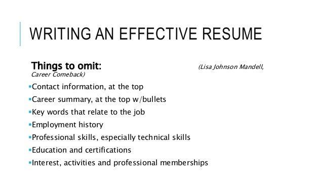 resume  u0026 interview training