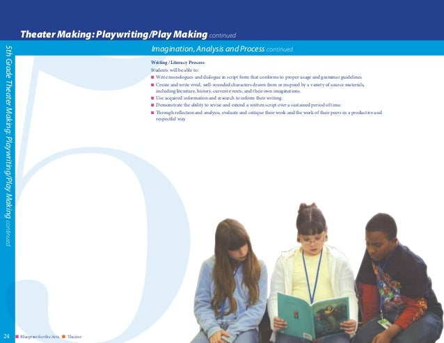 Blueprint for teaching and learning in theater june 2015 blueprint malvernweather Images