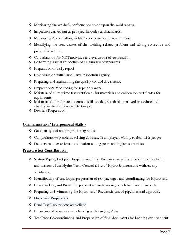resume certificate