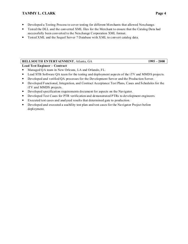 tammy clark resume final