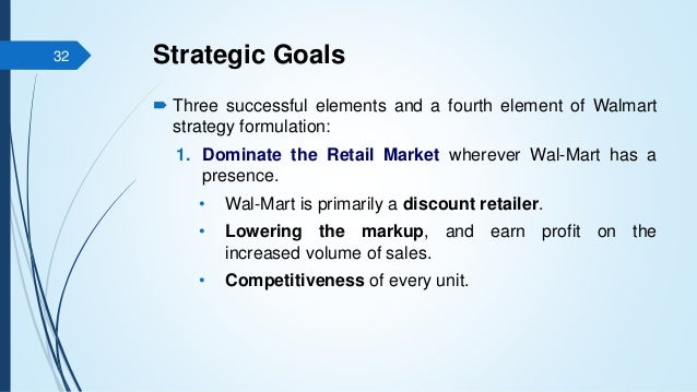 Walmart and the elements of business
