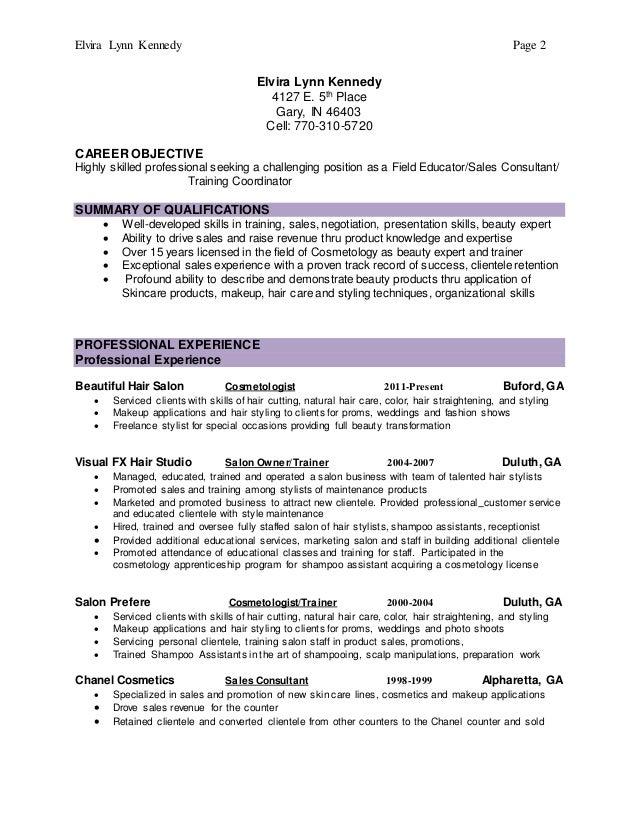 lynn kennedy u0026 39 s resume 3