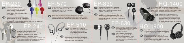 Customizable for true music listening. With 3 sizes (S,M,L) of ear-clips it offers the best fit for every listener. Include...