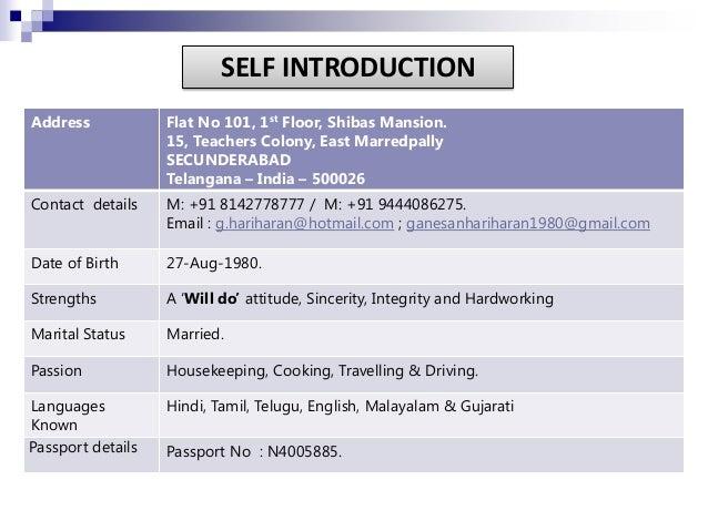 Hariharan. G Slide 2