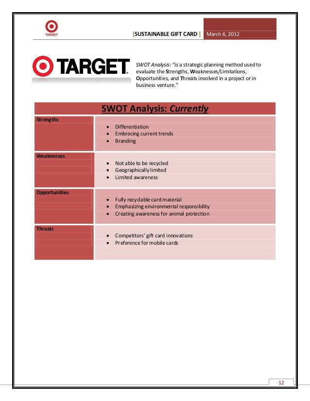 target case analysis essay How to write a target market analysis  by doing this, you can prepare and be ready in case those shifts actually occur.
