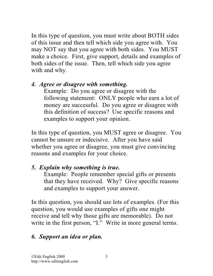 types of toefl essay topics image 6 - Toefl Essay Example