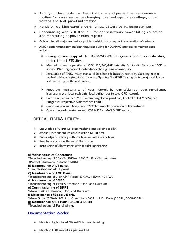 Maintenance Manager Resume Maintenance Director Resume Examples