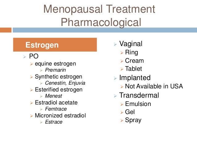 Vaginal estrace effect on sperm